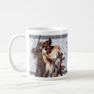VergilのAeneidのマグ コーヒーマグカップ