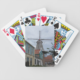 Vermeerの風車、歴史的村、ペラ、アイオワ バイスクルトランプ