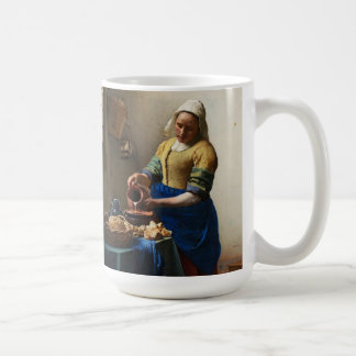 Vermeer Milkmaidのマグ コーヒーマグカップ