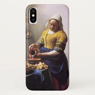 Vermeer MilkmaidのiPhoneカバー iPhone X ケース