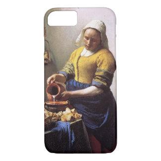 Vermeer MilkmaidのiPhone 7カバー iPhone 8/7ケース