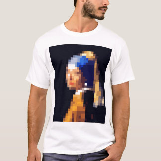"Vermeer ""The Girl With The Pearl Earring""? Tシャツ"