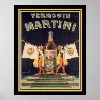 Vermouth Martini Vintage Ad Poster 16 x 20 ポスター