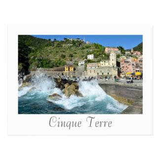 Vernazza、Cinque Terre、イタリア ポストカード