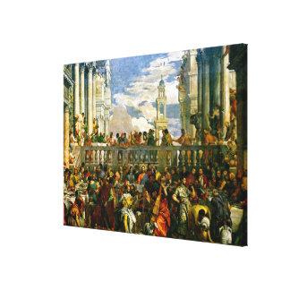 Veronese - Canaの結婚式 キャンバスプリント