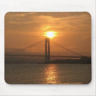 Verrazano橋ニューヨークシティのmousepad マウスパッド