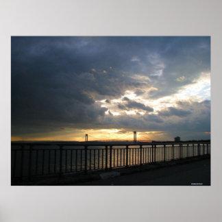 Verrazano橋ブルックリンニューヨークポスター ポスター