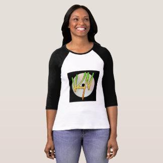 Verse4Verseのロゴの女性のRaglanのTシャツ Tシャツ
