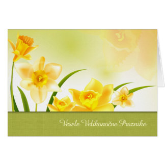 Vesele Velikonočne Praznikeのスロベニア人のイースターカード カード