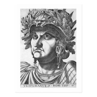Vespasian (9-79広告)、1596年(版木、銅版、版画) ポストカード