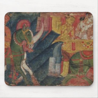 「Vessnatara Jataka」、原稿カバーから、Pala マウスパッド