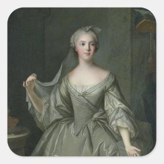 VestalヴァージンとしてSophie deフランス夫人 スクエアシール