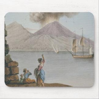 Vesuviusの噴火、月曜日第9威厳があるな1779年は、地図をつくります マウスパッド