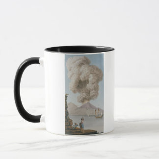 Vesuviusの噴火、月曜日第9威厳があるな1779年は、地図をつくります マグカップ
