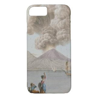 Vesuviusの噴火、月曜日第9威厳があるな1779年は、地図をつくります iPhone 8/7ケース
