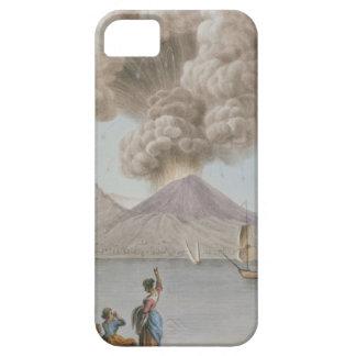 Vesuviusの噴火、月曜日第9威厳があるな1779年は、地図をつくります iPhone SE/5/5s ケース