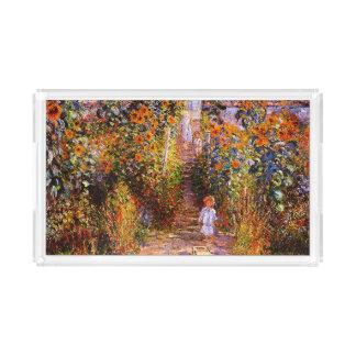VétheuilのクロウドMonet-Monetの庭 アクリルトレー