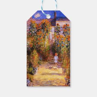VétheuilのクロウドMonet-Monetの庭 ギフトタグ