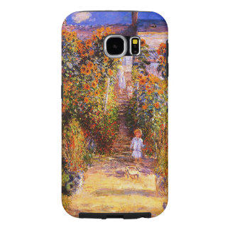 VétheuilのクロウドMonet-Monetの庭 Samsung Galaxy S6 ケース
