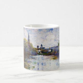 Vetheuilのセーヌ河クロード・モネの細い腕 コーヒーマグカップ