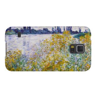 Vetheuilの近くのセーヌ河の花の島 Galaxy S5 ケース