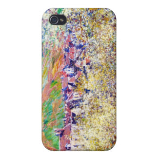 Vetheuilクロード・モネの花のスモモの木 iPhone 4/4Sケース