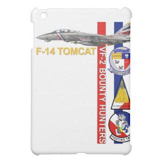 VF-2賞金目当てのハンターF-14の雄猫のiPadの場合 iPad Mini カバー