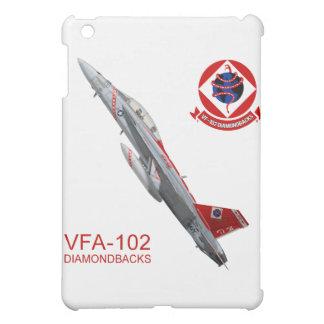 VFA-102ダイヤモンドバックスF-18のスズメバチのiPadの場合 iPad Mini カバー