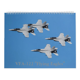"""VFA-122 """"飛行イーグルス""""のF/A-18によってすごいスズメバチ カレンダー"""