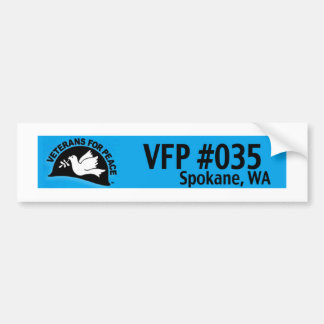 VFPスポケーンの記号 バンパーステッカー