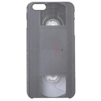 VHSの演劇の写実的な電話箱 クリア iPhone 6 PLUSケース