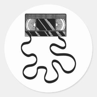 VHSの災難 ラウンドシール