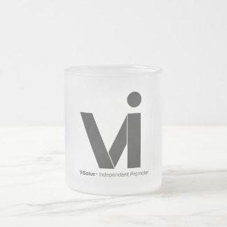 VIロゴの霜の降りたなマグ フロストグラスマグカップ