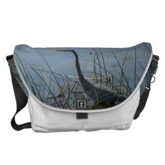Vieraの沼地の素晴らしい青鷲 メッセンジャーバッグ