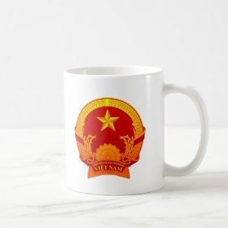 Vietnam crest2 マグカップ