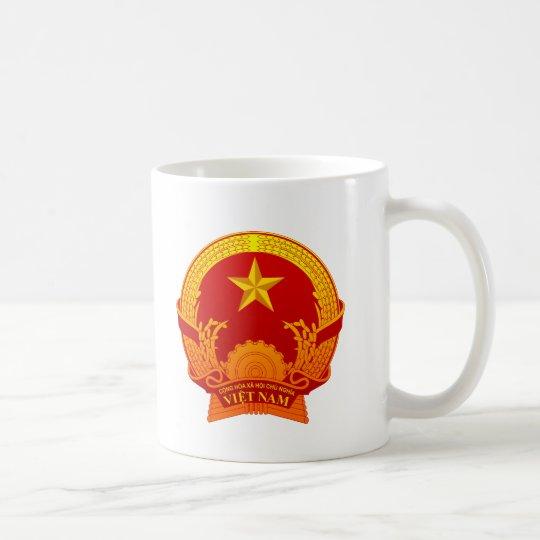 Vietnam crest2 コーヒーマグカップ