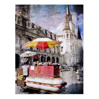 Vieux Carreのホットドッグ ポストカード