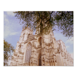 View Of York Minster ポスター