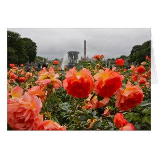 Vigeland彫刻公園II カード