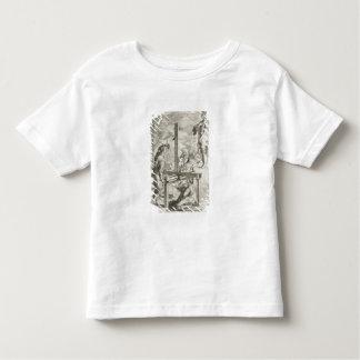 Vignolaの「Pracの2つの規則からのイラストレーション トドラーTシャツ