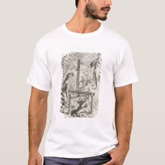 Vignolaの「Pracの2つの規則からのイラストレーション Tシャツ