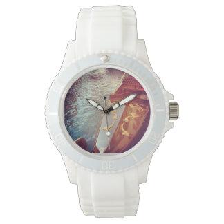 Vika著女性のためのベニスの恋人の白い腕時計 腕時計