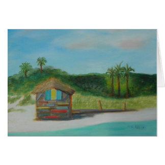 VILANOのビーチNotecardの1日 ノートカード