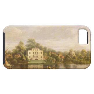 Villa、Twickenham、c.1765 (キャンバスの油)法皇の iPhone SE/5/5s ケース