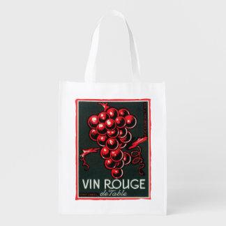 Vinの弁柄Deの食卓用ワインLabelEurope エコバッグ