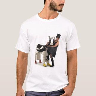 VinaigretteおよびMartiqua夫人牛 Tシャツ
