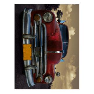 Vinales、キューバのクラシックなアメリカ車 はがき