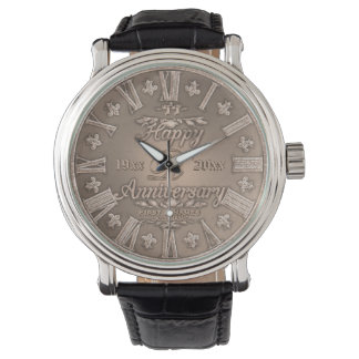 Vinate記念日年の銅 腕時計
