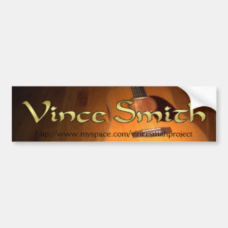 Vinceスミスのバンパーステッカー バンパーステッカー