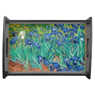 VINCENT VAN GOGH - Irises 1889 トレー